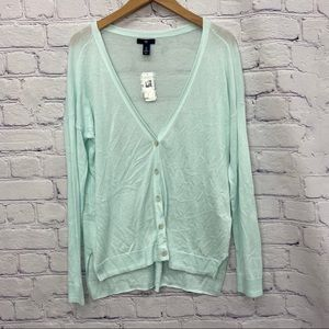 NEW Gap Ladies Mint Coloured Cardigan